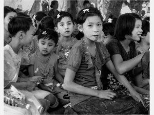 Eyes (Paung Zin Village 2014)