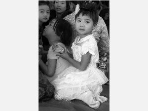 Girl with Bracelets (Paung Zin Village 2014)