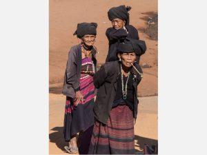 Three Akhu Women (Wan Sai Village 2014)
