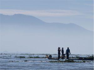 Three Fisherman (Inle Lake 2014)