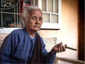 Woman with Cigar (Mingun 2014)