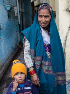 Mother & Son (2016 Kachpura/Agra, India)