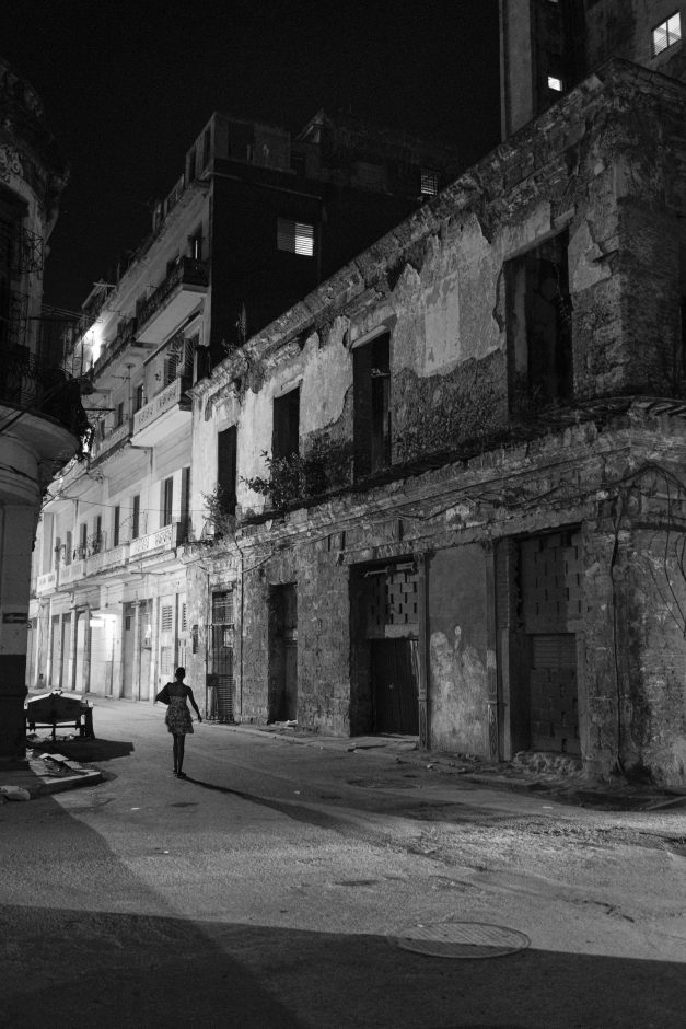 Woman in Centro Havana, 2020